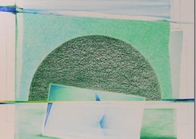Disegno Verde. matite e acquerello su cartone Martello cm.50x50[2]